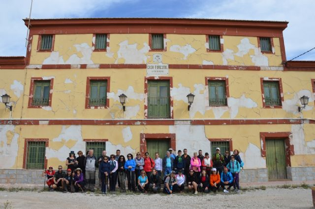More than 40 walkers enjoy Hiking path that took place between Ricote and Ojós - 3