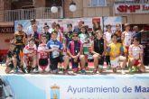 La exhibición de las escuelas regionales de ciclismo reúne a más de un centenar de participantes