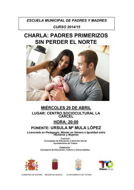 La Escuela de Padres y Madres organiza mañana la charla