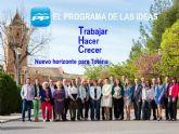 La candidatura del PP presenta esta noche el programa electoral para las elecciones municipales del 24 de mayo