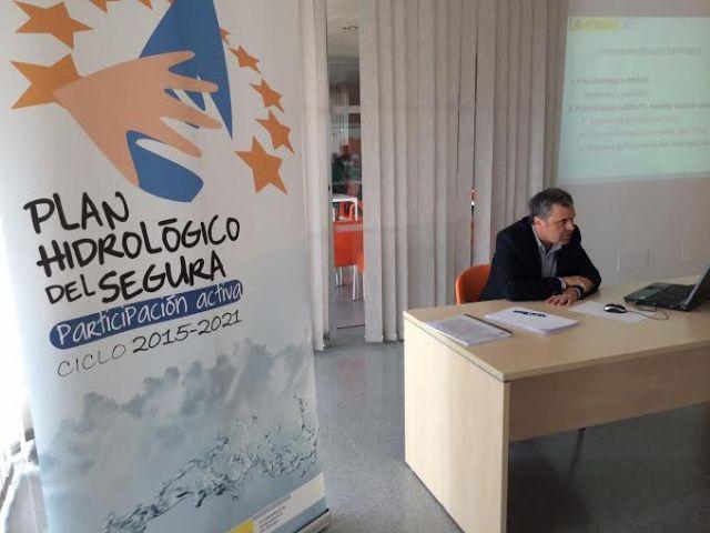 Autoridades municipales participan en la Mesa Territorial del Bajo Guadalentín para elaborar el futuro Plan Hidrológico del Segura