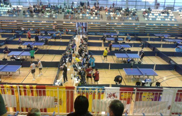 Buena actuación de la representación del club Totana TM en los Campeonatos de España de Veteranos, Foto 4