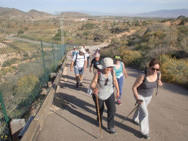 Más de 20 senderistas participaron en la ruta entre Fuente Álamo y las playas de Mazarrón, Foto 3