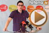 Rueda de prensa PSOE Totana sobre situación económica del ayuntamiento