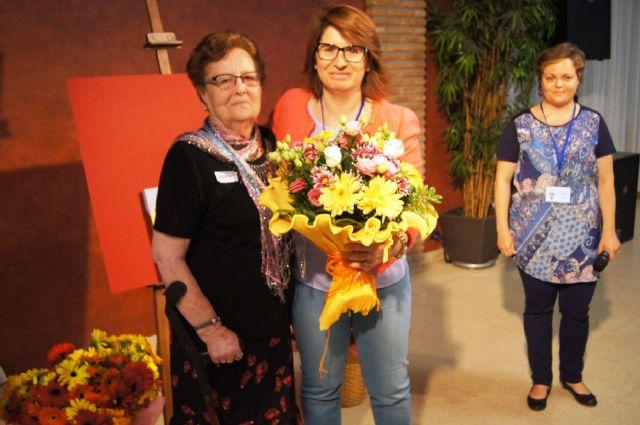 Salus Infirmorum nombra Voluntaria de Honor de esta asociación a la Alcaldesa, Foto 1