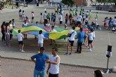Más de 400 alumnos de 5° de Educación Primaria de todos los colegios de Totana participan en la Jornada de Juegos Populares