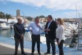 Bernabé señala la mejora de las instalaciones del Puerto Deportivo de Mazarrón