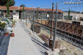Se amplía la zona nueva del Cementerio Municipal Nuestra Señora del Carmen con la construcción de 32 nuevas fosas - 8