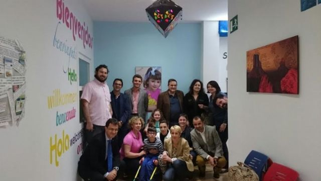 El Club Rotary Murcia Norte visita el Centro Multidisciplinar Celia Carrión Pérez de Tudela, Foto 1