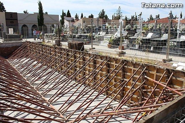 Se amplía la zona nueva del Cementerio Municipal Nuestra Señora del Carmen con la construcción de 32 nuevas fosas, Foto 1