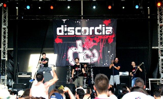 El grupo totanero Discordia actuó en el XX Festival Viña Rock, Foto 1