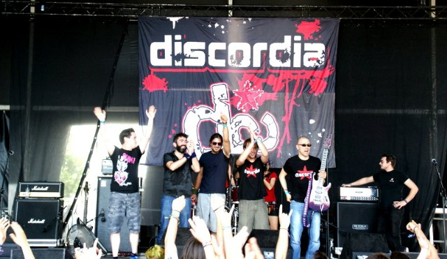 El grupo totanero Discordia actuó en el XX Festival Viña Rock, Foto 5