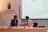Juan Carlos Ruiz afirma que el acondicionamiento de las Vías Verdes de Cartagena y Mazarrón consolida la Región como destino de ecoturismo
