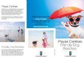 Servicios del Litoral edita las primeras guías informativas sobre las playas caninas