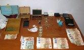 La Guardia Civil desmantela dos puntos de venta de cocaína y marihuana en Totana y en Sangonera la Verde-Murcia