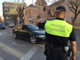 La Policía Local detiene a dos personas por conducir bajo los efectos de bebidas alcohólicas