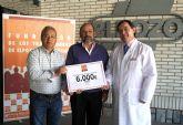 La Fundaci�n de Trabajadores de ElPozo dona 6.000 euros a la Fundaci�n Francisco Munuera Mart�nez