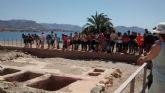 Los escolares celebran el día de los museos con una visita a los yacimientos arqueológicos