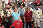 Un numeroso grupo de totaneros realizó un viaje a Caudete (Albacete) y Castalla (Alicante)