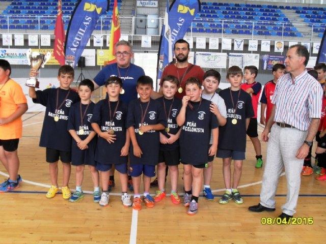 El Colegio Santa Eulalia se proclamó campeón regional de Multideporte Benjamín de Deporte Escolar, en la final regional celebrada en Águilas, Foto 4