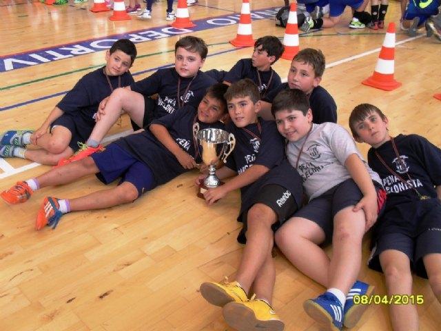 El Colegio Santa Eulalia se proclamó campeón regional de Multideporte Benjamín de Deporte Escolar, en la final regional celebrada en Águilas, Foto 5