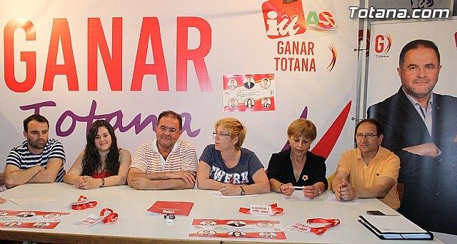 GANAR TOTANA IZQUIERDA UNIDA presenta las primeras 20 medidas que llevará a cabo, en el primer mes, de ser responsables en el Gobierno Municipal, Foto 1