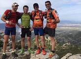 Sexta salida organizada por el grupo de amigos de la montaña Kasi Ná Trail