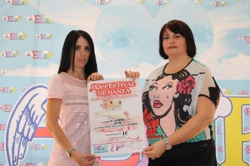 El XIX Festival de la Escuela de Danza Mari Loli de Totana será solidario con AELIP, Foto 1
