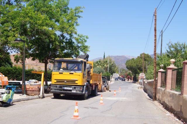 Se realiza corte de suministro en el barrio de La Cruz con motivo de las obras de mejora del suministro de agua potable, Foto 1