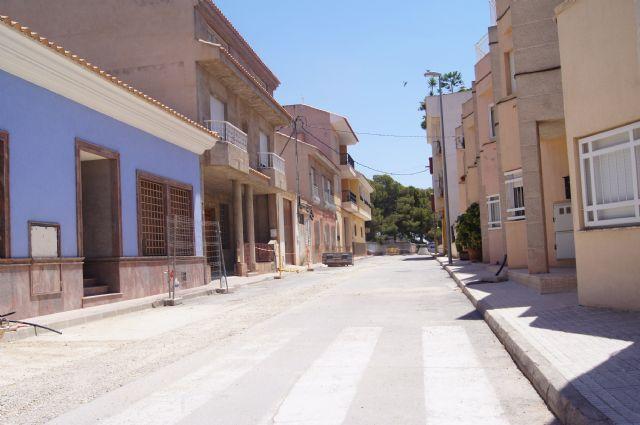 Se realiza corte de suministro en el barrio de La Cruz con motivo de las obras de mejora del suministro de agua potable, Foto 3
