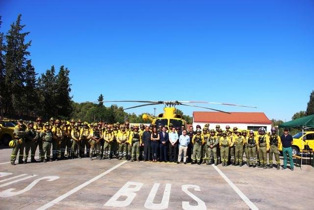 La Comunidad moviliza diariamente a más de 440 personas para afrontar la temporada de peligro alto de incendios forestales, Foto 2