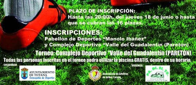 El II Torneo de Fútbol-7 PADISITO se celebra los días 20 y 21 de junio en el Complejo Deportivo Valle del Guadalentín de El Paretón, Foto 2