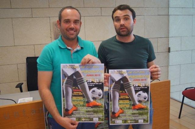 El II Torneo de Fútbol-7 PADISITO se celebra los días 20 y 21 de junio en el Complejo Deportivo Valle del Guadalentín de El Paretón, Foto 3