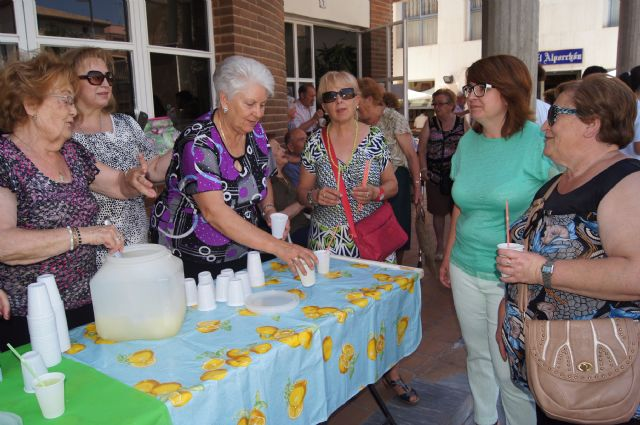 Start with the distribution of water-lemon between partners the program of activities of the Festival for the Elderly at the Centre de la Balsa Vieja, Foto 6