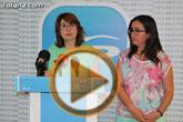 Rueda de prensa PP Totana. Valoración resultados elecciones 24 mayo 2015