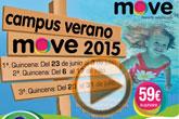 El II Campus de Verano MOVE´2015 se organiza en tres quincenas diferentes
