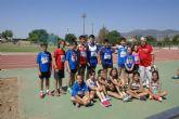 Los atletas cehegineros consiguen 17 medallas en el Campeonato Regional