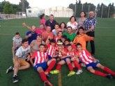 El Alevín B del Olímpico de Totana, campeón del torneo alevín Alhama 2015