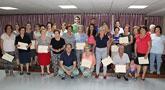 Clausura y entrega de diplomas del Programa de Gimnasia para Personas Mayores