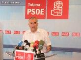 El PSOE reclama una Comisión Especial en la Asamblea que estudie con todo detalle el modelo de desarrollo territorial que necesita la Región