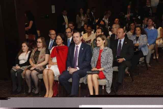 Su majestad la Reina Doña Letizia recibe en audiencia a la Alianza Iberoamericana de Enfermedades Raras, que preside el totanero Juan Carrión
