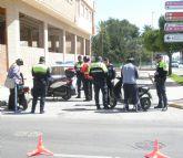 La Policía Local realiza un total de 85 controles y formaliza 11 denuncias dentro de la campaña especial sobre Control y Vigilancia de Vehículos de dos Ruedas