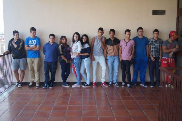 Finaliza el programa compensación educativa Aula Ocupacional en el que han participado 13 alumnos de ESO durante el curso 2014/15, Foto 1