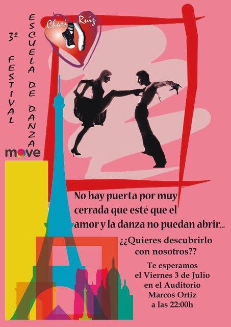 El 3º Festival de baile de la Escuela de Danza Move-Chari Ruiz tendrá lugar este viernes 3 de julio, Foto 1
