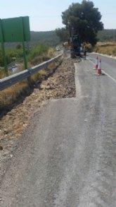 Obras de mejora en Alhama de Murcia