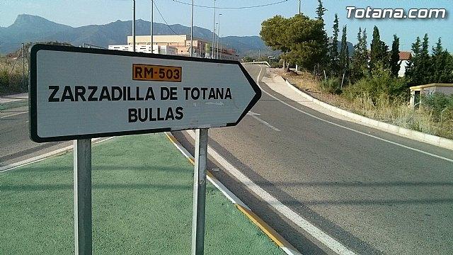 El PSOE presenta una moción en la Asamblea Regional para la rehabilitación integral de la carretera RM-503, Foto 1