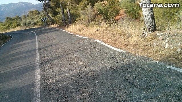El PSOE presenta una moción en la Asamblea Regional para la rehabilitación integral de la carretera RM-503, Foto 2