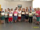 Clausura y entrega de diplomas a las alumnas participantes en el programa municipal de Gimnasia para Mayores en El Paretón - 1
