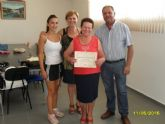 Clausura y entrega de diplomas a las alumnas participantes en el programa municipal de Gimnasia para Mayores en El Paretón - 7