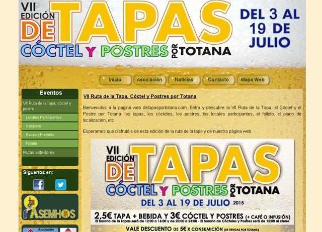 Descubre todos los detalles de la Ruta de Tapas, Cóctel y Postres de Totana en la web detapasportotana.com, Foto 1